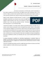 Espelho - Simulado Penal - XXI Exame da OAB - 2ª fase