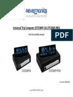 UTCOMP v3 User and Assembly Manual