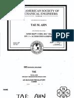 Course ASME VIII - Div 1