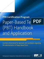 PMP test guide for Study paper base exam