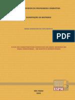 Dissertação- O uso das caracteristicas especficas dos meios impressos nas peças publicitárias