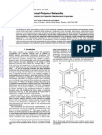 Auxetic 2D Polymer Networks. an Eg of Tailoring Geometry for Spec Mech Properties