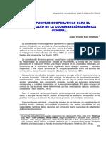 3. Desarrollo de La Coordinación Dinámica General