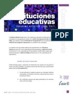 Instituciones Educativas   FeNaL2017