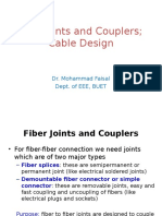 Fiber Joints and Couplers