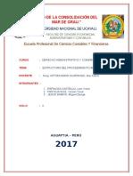 Caratula Dercho - Proc. Admin.