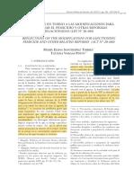 Reflexiones en Torno a Las Modificaciones Para Sancionar El Femicidio y Otras Reformas Relacionadas (Ley N_ 20.480)