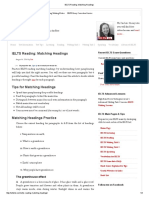IELTS Reading_ Matching Headings