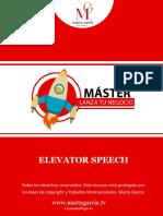 Plantilla Elevator Peech