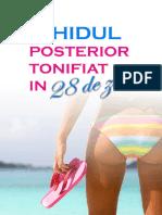 Ghidul Posterior Tonifiat in 28 de Zile