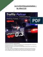 Traffic Policer Documentation
