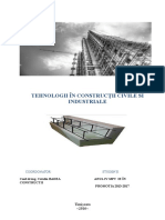 Tehnologii in constructii