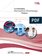 Guide to Evaluating Hie Projects