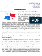 Paquete Sociedad Offshore Panamá IBC