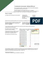 Tabular en Excel