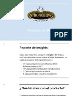 Reporte Strongbow