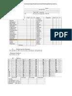 Protocolo de Evaluacion Fonoaudiologica 2012