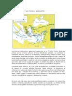 El Mediterráneo y Sus Primeros Navegantes