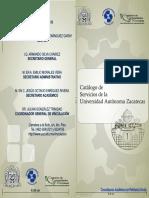 Catalogo Manual de Servicios