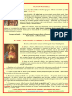 Oracion y Acciones