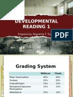 Developmentalreading1 Lesson1