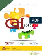 Modelo Autoevaluación Empresas Públicas - España -Guia_CAF_2013 Copia