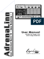 AdrenaLinn III Users Manual v302 5-14-08