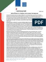 KFF Medicaid Block Grant 2011