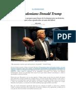 El Maradoniano Donald Trump - John Carlin