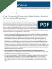 KFF What at Risk Repeal ACA Medicaid Expansion
