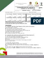 Examen Grammar and Vocabulary Level 1 Version b