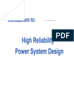 1. Reliability Preface