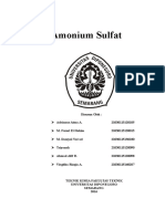 Proses Industri Kimia Ammonium Sulfat