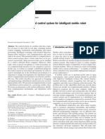 La Aplicación de Sistema de Control Distribuido Para El Robot Móvil Inteligente Inglish