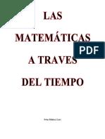 Las Matematicas a Traves Del Tiempo