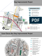 Cesar Chavez Bus Stop Improvement Project