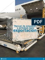 Manual de Empaque y Embalaje Para Exportacion