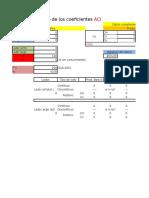 A C I Metodo de Los Coeficientes