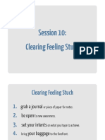 10 Clearing Feeling Stuck Workbook