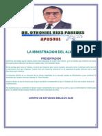 Libro Apostol Otoniel Rios Paredes La Minis Trac Ion Del Alma