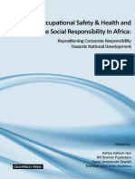 Occupational Safety & Health and Corporate Social Responsibility in Africa