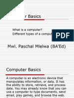 Computer Basics Paglo Institute Course1