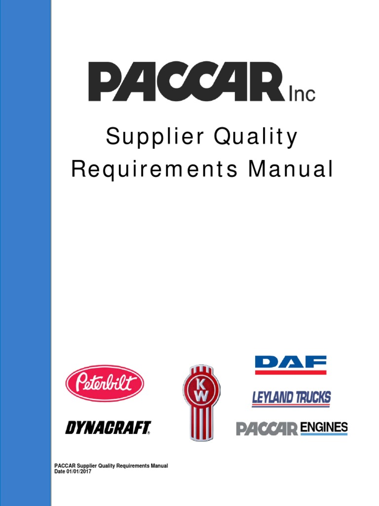 supplier quality requirements manual 010317 final iso 9000 rh es scribd com Quality System Supplier Quality Manual Examples