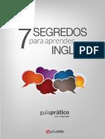 E-book - Os 7 Segredos Para Aprender Inglês