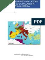 REYNOS EUROPEOS EN LA EDAD MEDIA