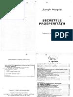 106538498 Secretele Prosperitatii de Joseph Murphy