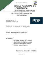 Teologia de La Liberacion (1)