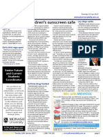 Pharmacy Daily for Tue 10 Jan 2017 - Children's sunscreen safe, MedAdvisor growth surge, Ley steps aside, Guild Update and much more