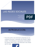 Las Redes Sociales Proyect