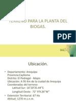 Terreno Para La Planta Del Biogas